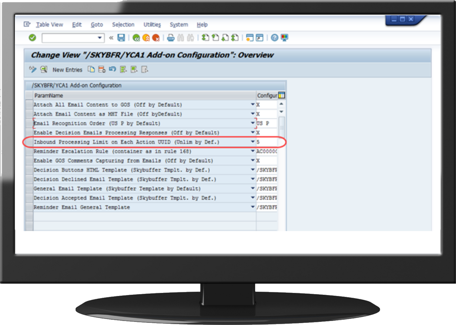 S/4HANA AND SAP ECC FEATURE LIST OF ACTION CARDS APPLICATION – SKYBUFFER