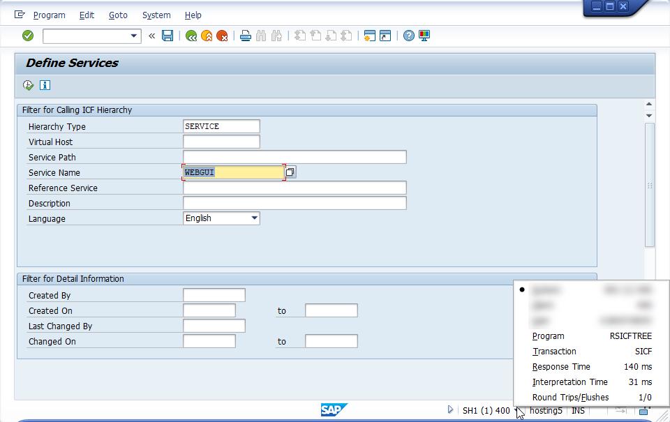 Similarity and Difference Between SAP WebGUI and S/4HANA SAP GUI
